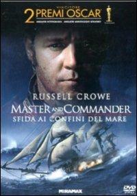 Cover Dvd Master & Commander. Sfida ai confini del mare (DVD)
