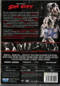 Sin City di Robert Rodriguez,Frank Miller,Quentin Tarantino - DVD - 2