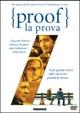Cover Dvd DVD Proof - La prova