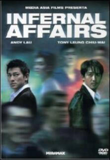 Infernal Affairs di Andrew Lau,Siu Fai Mak - DVD