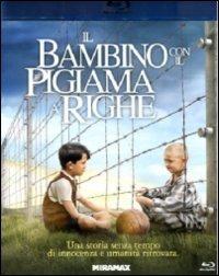 Cover Dvd bambino con il pigiama a righe (Blu-ray)