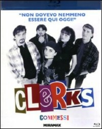 Cover Dvd Clerks. Commessi (Blu-ray)