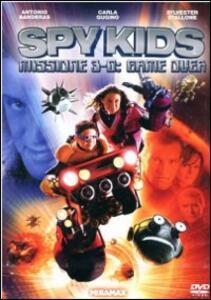 Spy Kids Missione 3-D. Game Over di Robert Rodriguez - DVD