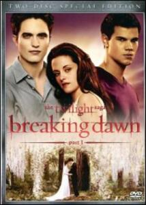 Breaking Dawn. Part 1. The Twilight Saga di Bill Condon - DVD
