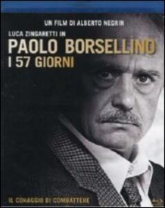Paolo Borsellino. I 57 giorni di Alberto Negrin - Blu-ray