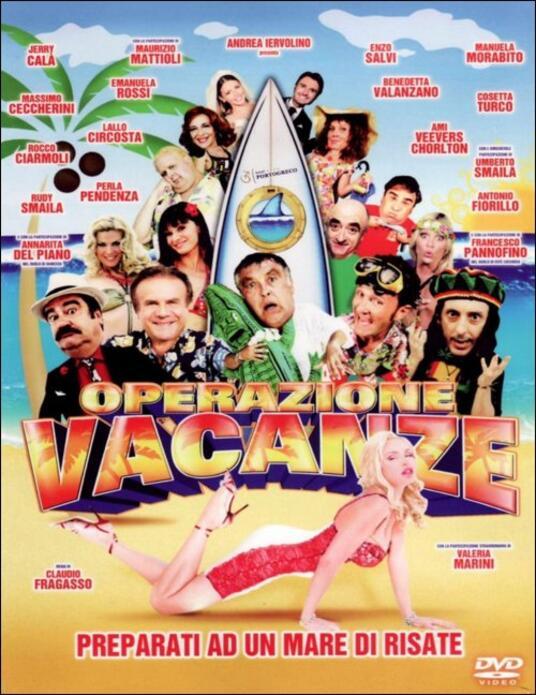 Operazione Vacanze di Claudio Fragasso - DVD