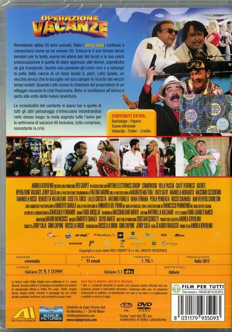 Operazione Vacanze di Claudio Fragasso - DVD - 2