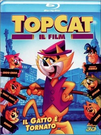 Cover Dvd Top Cat. Il film 3D (Blu-ray)