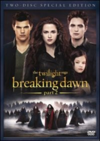 Cover Dvd Breaking Dawn. Part 2. The Twilight Saga (DVD)