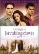 Cover Dvd The Twilight Saga: Breaking Dawn - Parte 1