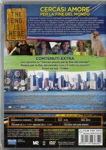 Cercasi amore per la fine del mondo di Lorene Scafaria - DVD - 2