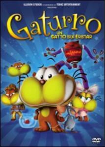 Gaturro. Un gatto superstar di Gustavo Cova - DVD