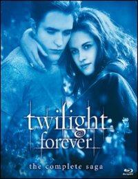 Cover Dvd Twilight Forever. La saga completa (Blu-ray)