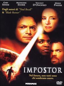 Impostor di Gary Fleder - DVD