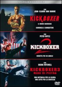 Trilogia Kickboxer (3 DVD) di Mark Disalle,Rick King,Albert Pyun