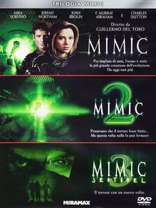 Trilogia Mimic (3 DVD) di Guillermo Del Toro,J.T. Petty,Jean de Segonzac