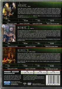 Trilogia Mimic (3 DVD) di Guillermo Del Toro,J.T. Petty,Jean de Segonzac - 2