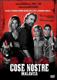 Cover Dvd Cose nostre. Malavita (DVD)