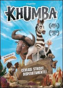 Khumba. Cercasi strisce disperatamente di Anthony Silverston - DVD