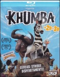 Khumba. Cercasi strisce disperatamente 2D e 3D (Blu-ray + Blu-ray 3D) di Anthony Silverston