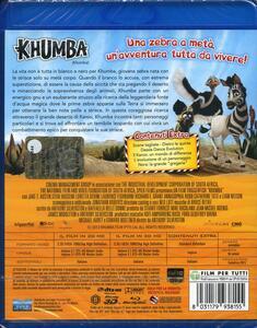 Khumba. Cercasi strisce disperatamente 2D e 3D (Blu-ray + Blu-ray 3D) di Anthony Silverston - 2