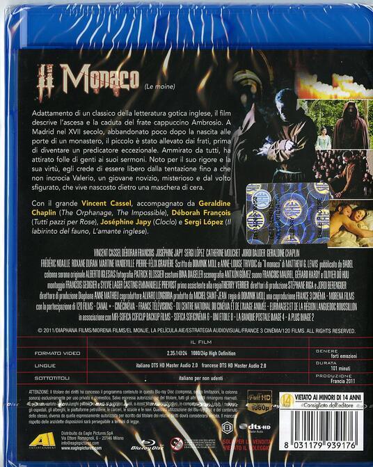 Il monaco di Dominik Moll - Blu-ray - 2