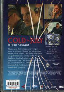 Cold in July. Freddo a luglio di Jim Mickle - DVD - 2