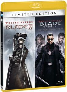 Blade 2. Blade. Trinity. Limited Edition (2 Blu-ray) di Guillermo Del Toro,David S. Goyer