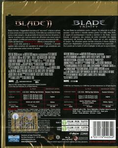 Blade 2. Blade. Trinity. Limited Edition (2 Blu-ray) di Guillermo Del Toro,David S. Goyer - 2