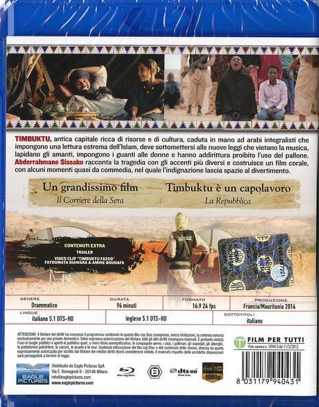 Timbuktu di Abderrahmane Sissako - Blu-ray - 2