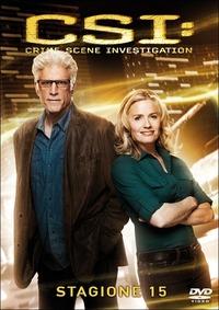 Cover Dvd CSI. Crime Scene Investigation. Stagione 15 (DVD)