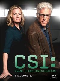 Cover Dvd CSI. Crime Scene Investigation. Stagione 13 (DVD)