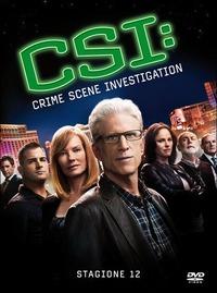 Cover Dvd CSI. Crime Scene Investigation. Stagione 12 (DVD)