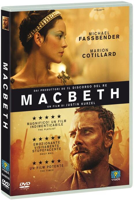 Macbeth di Justin Kurzel - DVD