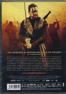 Macbeth di Justin Kurzel - DVD - 2