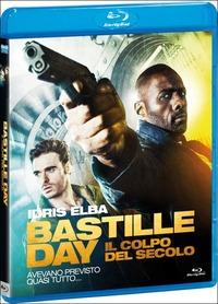 Cover Dvd Bastille Day. Il colpo del secolo
