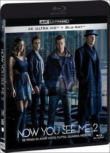 Now You See Me 2 (Blu-ray + Blu-ray 4K Ultra HD) di Jon M. Chu