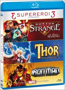 Supereroi 3. Limited Edition (3 Blu-ray) di Patrick Archibald,Sam Liu,Jay Oliva,Frank Paur