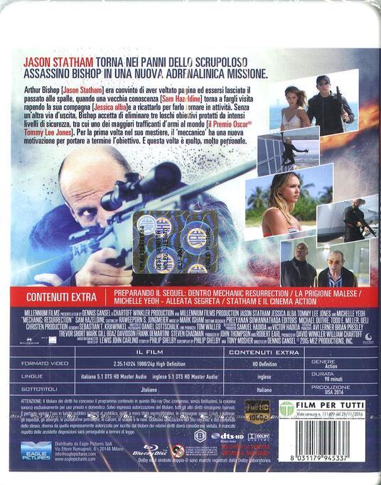Mechanic: Resurrection (Blu-ray) di Dennis Gansel - Blu-ray - 10
