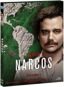 Narcos. Stagione 1 (3 Blu-ray) - Blu-ray