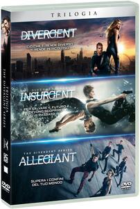 Divergent. La trilogia (3 DVD) di Neil Burger,Robert Schwentke