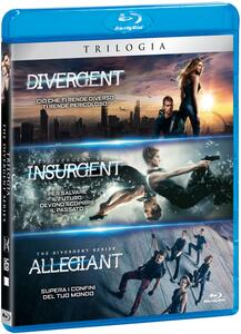 Divergent. La trilogia (3 Blu-ray) di Neil Burger,Robert Schwentke