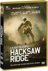 La battaglia di Hacksaw Ridge (DVD) di Mel Gibson - DVD
