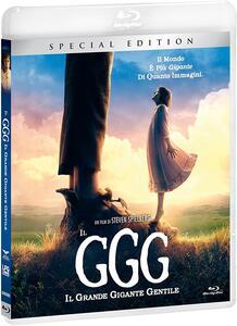 Film Il GGG. Il Grande Gigante Gentile. Edizione speciale (Blu-ray) Steven Spielberg