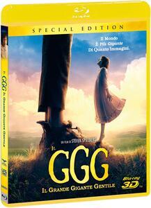 Il GGG. Il Grande Gigante Gentile. Edizione speciale (Blu-ray + Blu-ray 3D) di Steven Spielberg