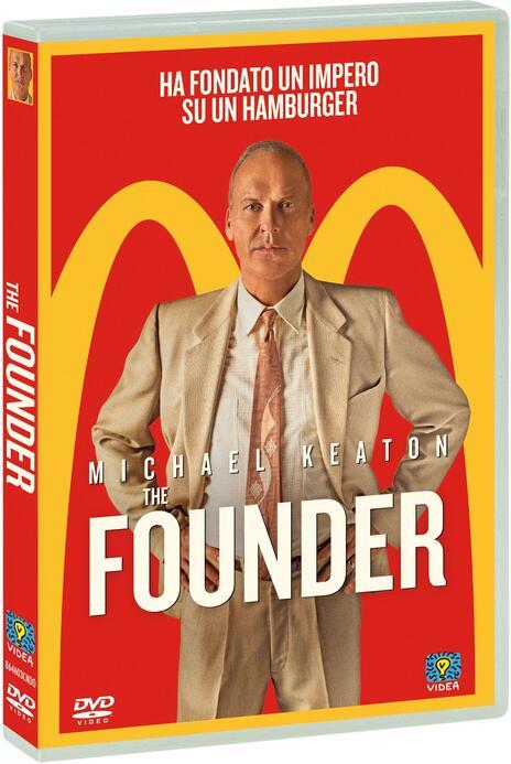 The Founder (DVD) di John Lee Hancock - DVD