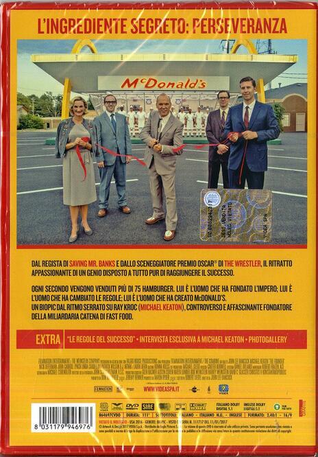 The Founder (DVD) di John Lee Hancock - DVD - 2