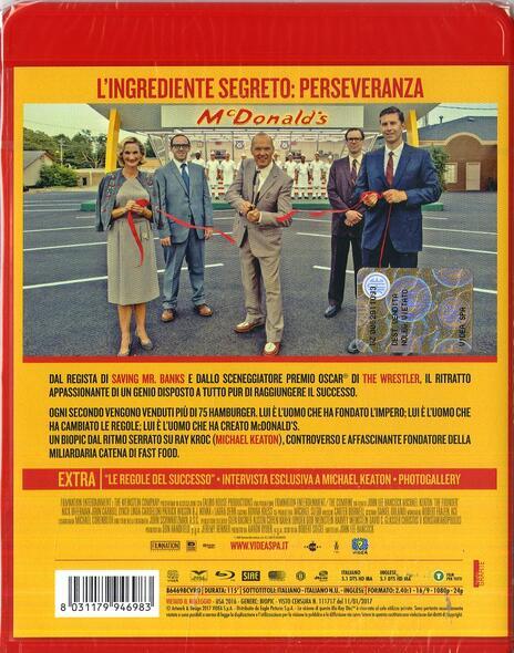 The Founder (Blu-ray) di John Lee Hancock - Blu-ray - 2