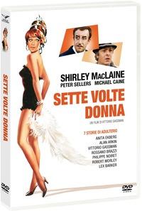 Cover Dvd Sette volte donna (DVD)