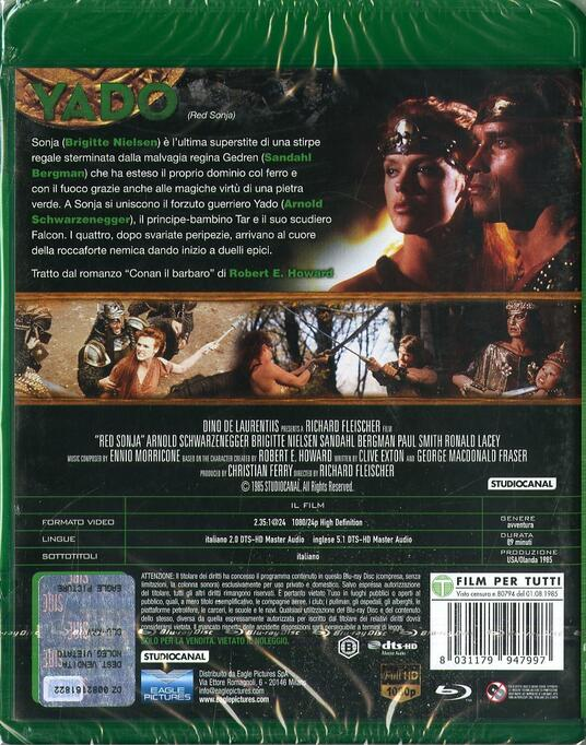 Yado (Blu-ray) di Richard Fleischer - Blu-ray - 2